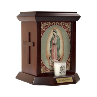 Official Vatican Foundation Lady de Guadalupe by Barzoni Urn