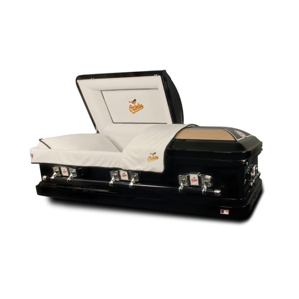 Official Major League Baseball American League Casket