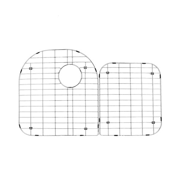 Stainless Steel Grid Under-mount Sink Protector Set