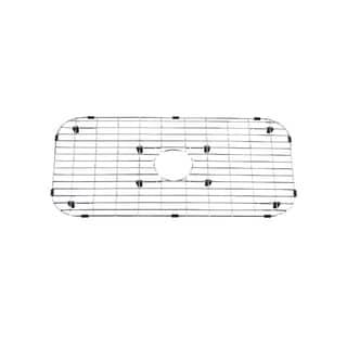 Stainless Steel Rectangular Center Drain Bottom Grid