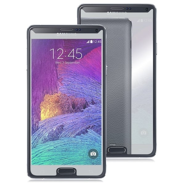 INSTEN Mirror Screen Protector For Samsung Galaxy Note 4