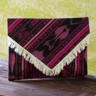 Handcrafted Cotton 'Nebaj' Clutch Handbag (Guatemala)