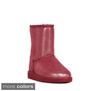 Ugg Girls Classic Glitter Boots