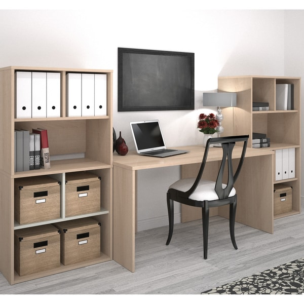 i3 by Bestar Executive Desk and Storage Kit 14642944