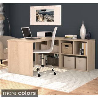 i3 by Bestar L-shaped Storage Desk