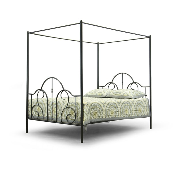 Baxton Studio Monticello Metal Contemporary Queen Size