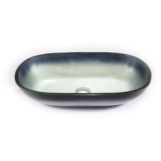 Legion Furniture Oval Tempered Glass Sink Bowl