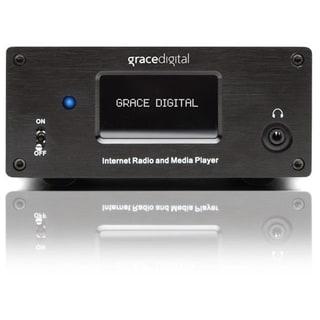 Grace Digital GDI-IRMSamp Internet Radio - Wireless LAN - Black