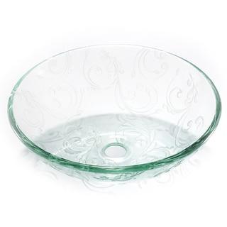 Legion Furniture Vine and Leaf Sink Bowl