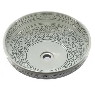 Legion Furniture Elegant Porcelain Sink Bowl