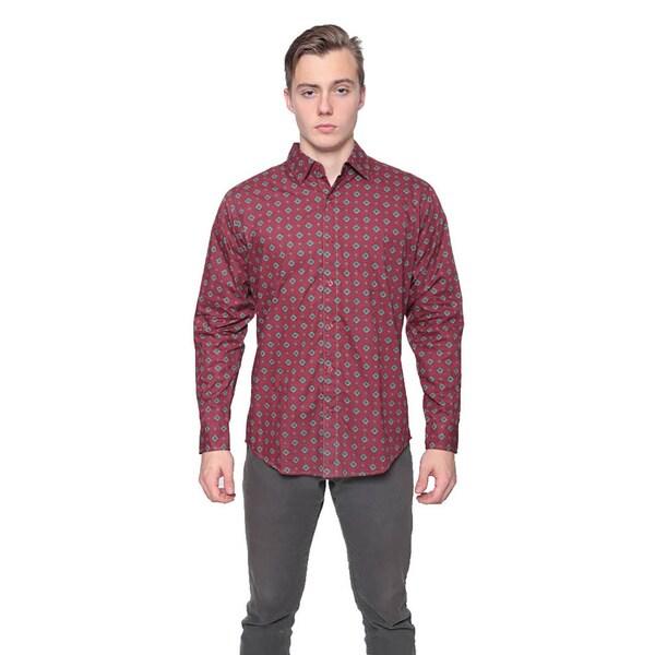 Retro Tie Print Shirt