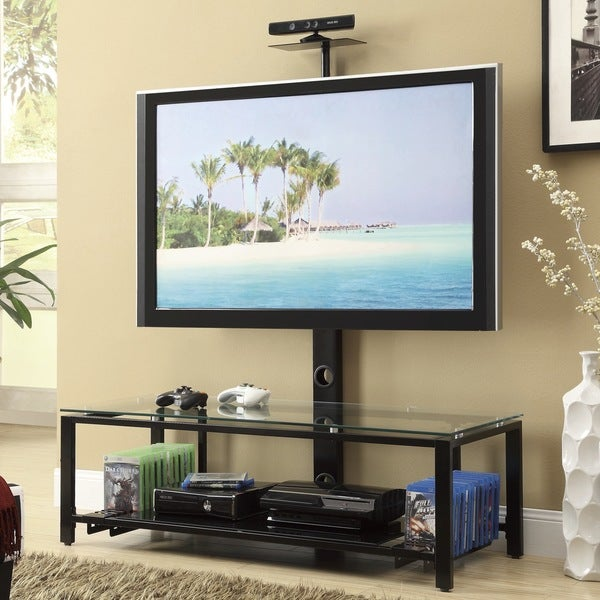 Seel Black TV Stand