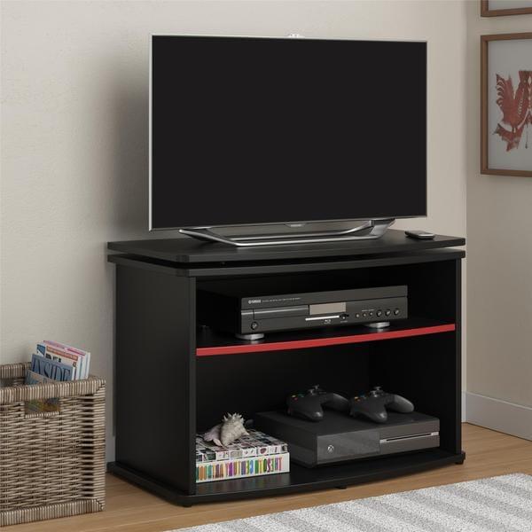 Altra Buckner Swivel Top Black TV stand
