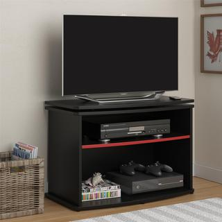 Altra Swivel Top Black TV stand