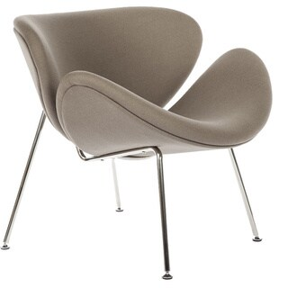 Stainless Steel Grey Slice Chair