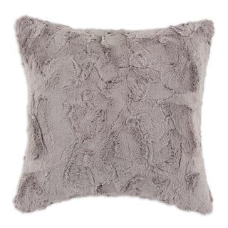 Luxe Taupe 17-inch Decorative Throw Pillow