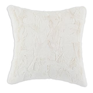 Luxe Ivory 17-inch Decorative Throw Pillow