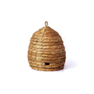 Tan 14-inch Straw Bee Skep (Pack of 6)