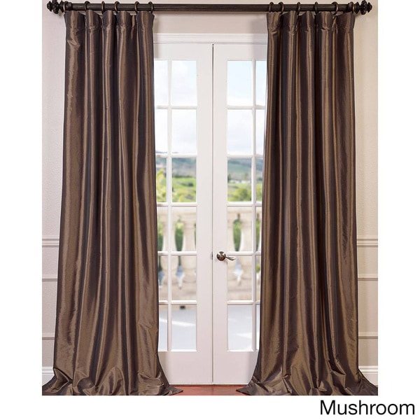 EFF Faux Silk Taffeta 96-inch Blackout Curtain Panel (As Is Item)