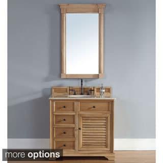 Savannah Natural Oak 36-inch Single Vanity Cabinet