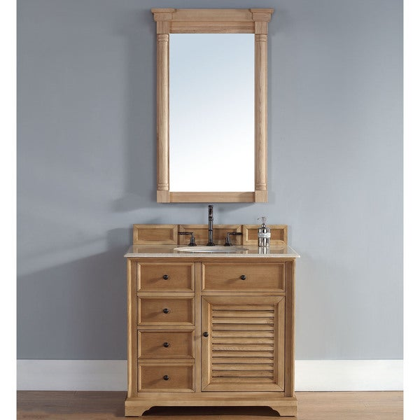 Savannah Natural Oak 36-inch Single Vanity Cabinet
