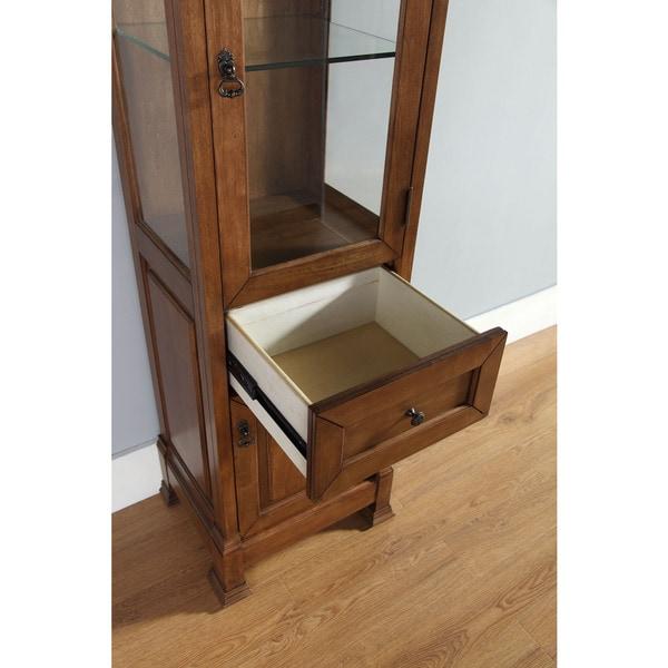 Freestanding linen cabinet