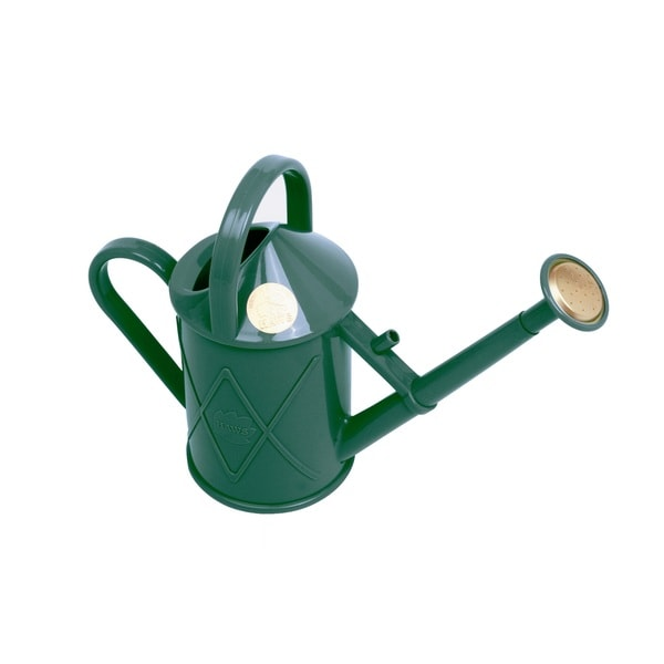 English Garden Haws Heritage 2-pint Indoor Green Plastic Watering Can