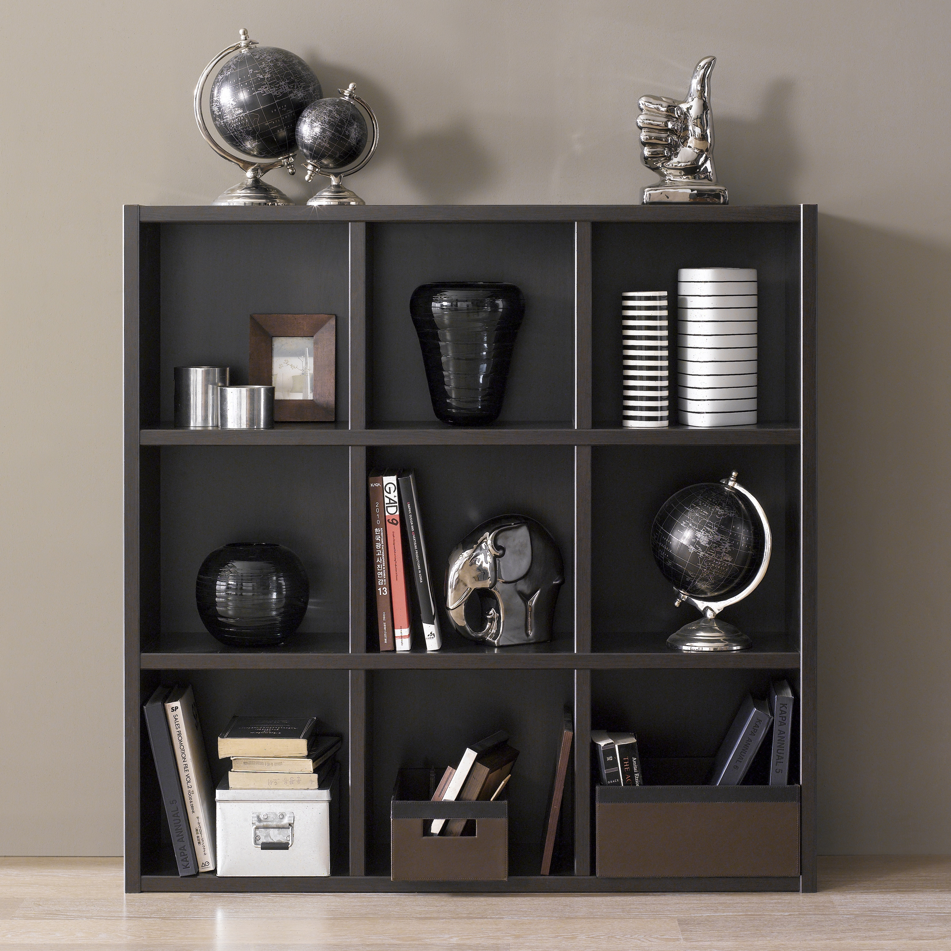 Techny Collection Tobey Cubicle Bookcase