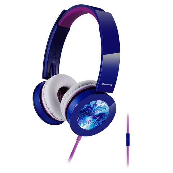 Panasonic Sound Rush Plus On-Ear Headphones