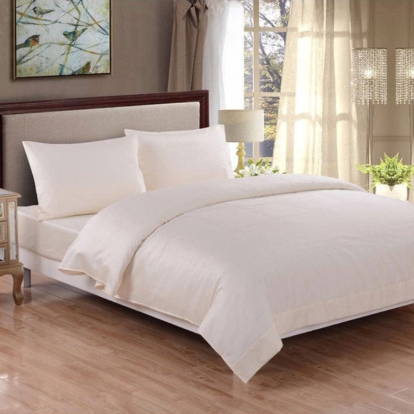 Honeymoon 400 Thread Count Cotton Breathable Fade-resistant Sheet Set