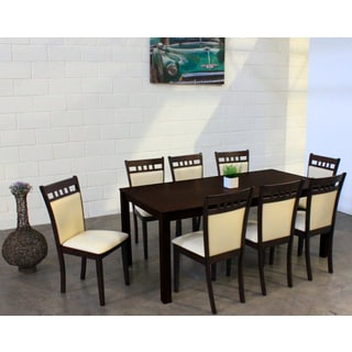 Warehouse of Tiffany Shirlyn Chalk 9-piece Dining Set