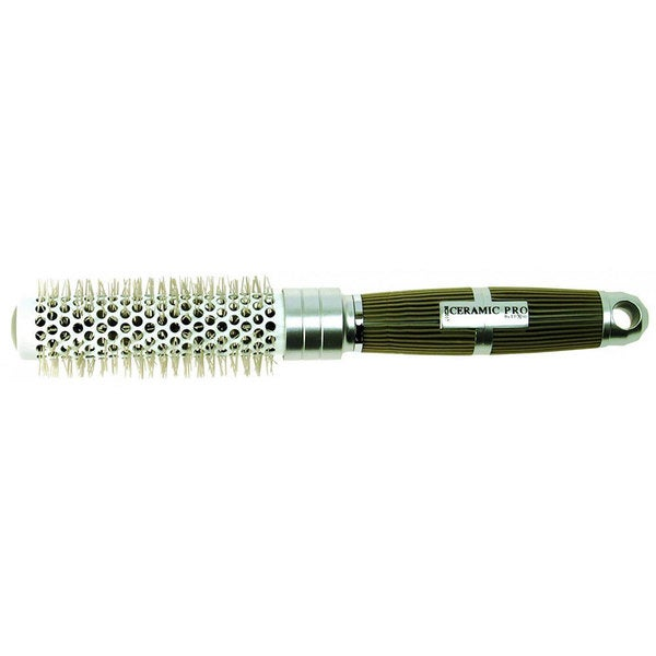Luxor Small 1.5-inch Rubber Grip Thermal Curling Brush