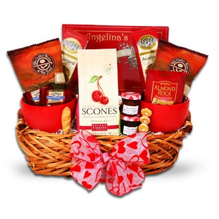 Breakfast In Bed For My Valentine Gift Basket