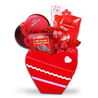 Valentine's Day Chocolate Heart Gift Box