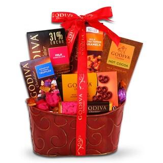 Godiva Chocolate Valentine's Gift Basket