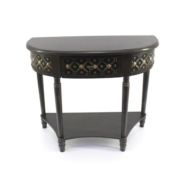 Half moon side table 16915185 shopping for 1 2 moon table