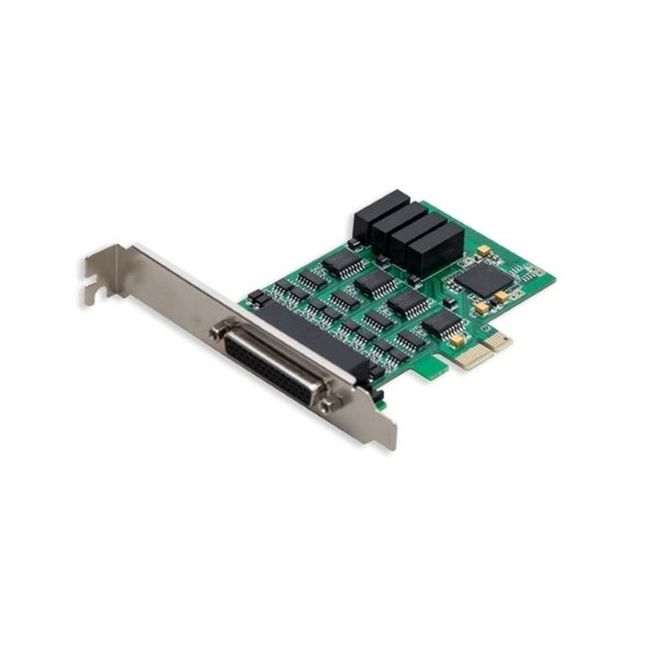 IOCrest 4-Port RS-232 Serial Pcie 2.0 X1 Card With Serial Terminal Block