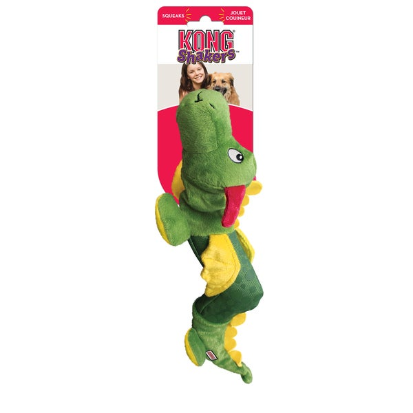 Kong Shakers Dragon Plush Dog Toy
