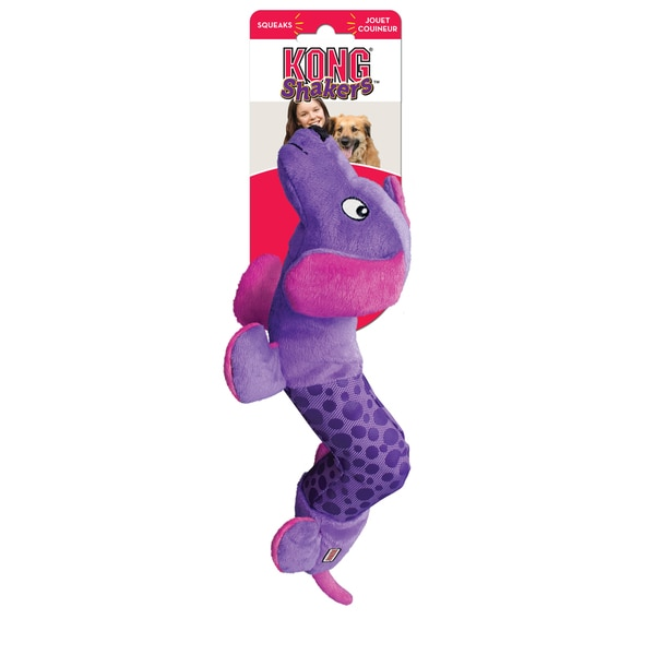 Kong Shakers Purple Dog Plush Dog Toy 14645061