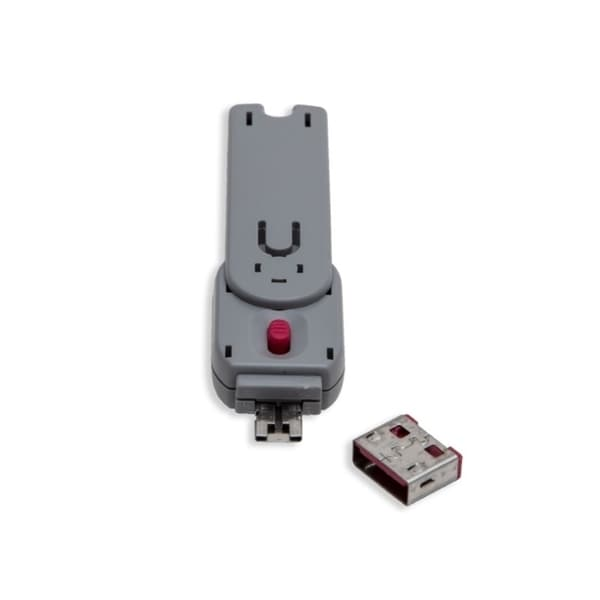 Syba USB Port Blocker With 1 Key And 4 Locks