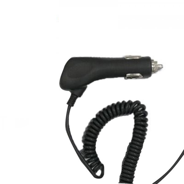 INSTEN High Quality Apple 8-Pin iPhone Car Charger With Smart IC Chip, 5-feet Cable For iPhone/ iPods