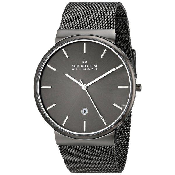 Skagen 'Ancher' Men's Gunmetal Ion Plated Stainless Steel SKW6108 Watch