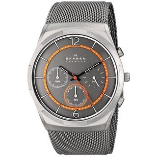 Skagen Men's Melbye SKW6135 Grey Stainless-Steel Quartz Watch