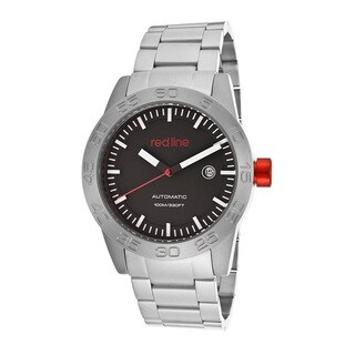 Red Line Men's RL-50045-11 Mileage Black Dial Watch
