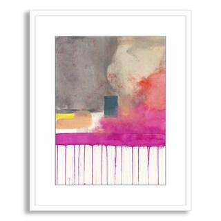 Jaime Derringer's 'Composition V' Framed Paper Art