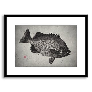 Gallery Direct Dwight Hwang's 'Spotted Knifejaw' Framed Paper Art