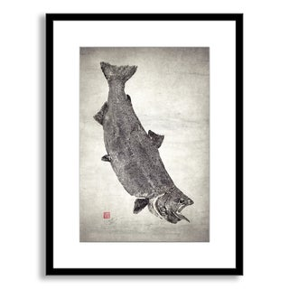 Gallery Direct Dwight Hwang's 'King Salmon King of the North' Framed Paper Art