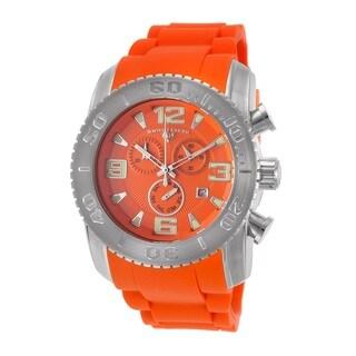 Swiss Legend Men's SL-10067-06 Commander Orange Watch