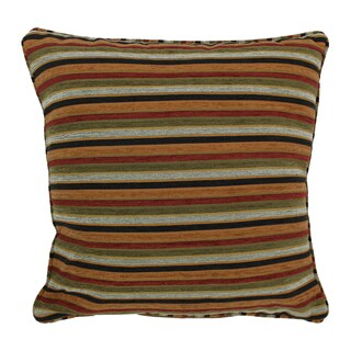 Blazing Needles 25-inch 'Cadillac' Jacquard Chenille Square Floor Pillow with Insert