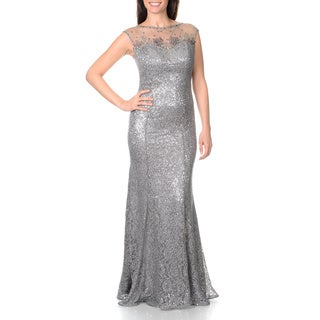 Ignite Evenings by Carol Lin Women's Lace Sequin Gown